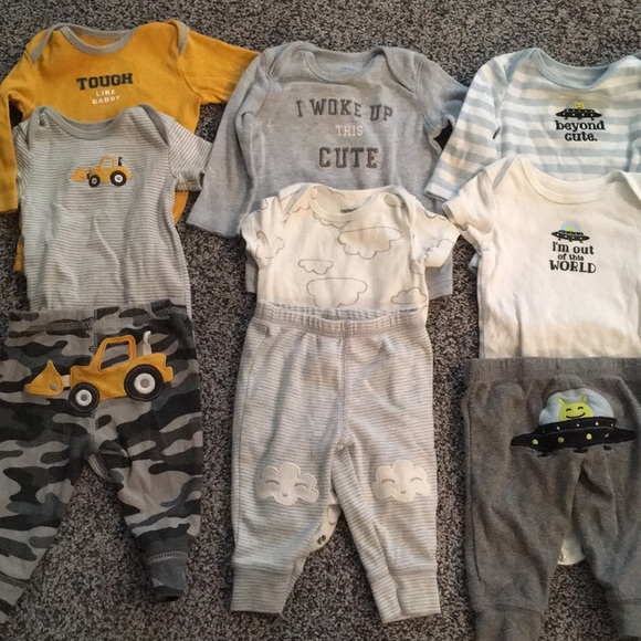 315817999 Carter's Matching Sets | Boys 3 Month Outfit Sets | Poshmark